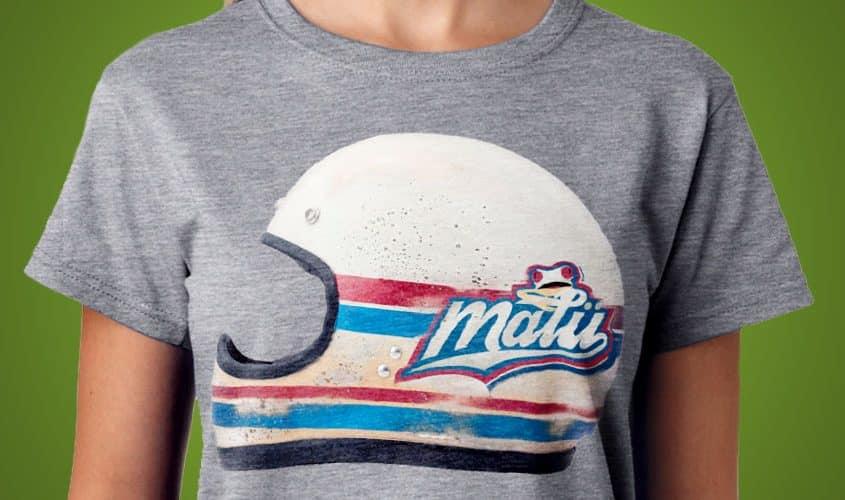 Stampa digitale diretta su T-shirt - Malu